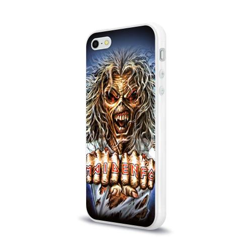 Чехол для Apple iPhone 5/5S силиконовый глянцевый  Фото 03, Iron maiden 6