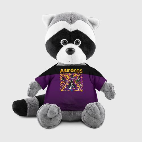 Енотик в футболке 3D Ramones 4 Фото 01
