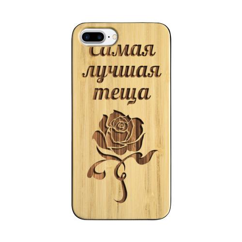 Чехол для Apple iPhone 8 Plus деревянный