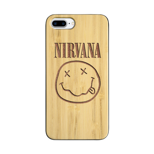 Чехол для Apple iPhone 7 Plus деревянный  Фото 01, Nirvana