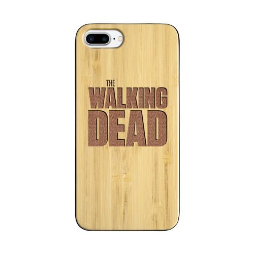 Чехол для Apple iPhone 7 Plus деревянный  Фото 01, Ходячие мертвецы
