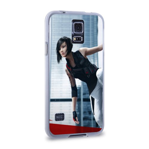 Чехол для Samsung Galaxy S5 силиконовый  Фото 02, Mirror's Edge