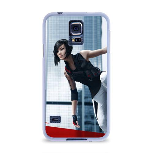 Чехол для Samsung Galaxy S5 силиконовый  Фото 01, Mirror's Edge