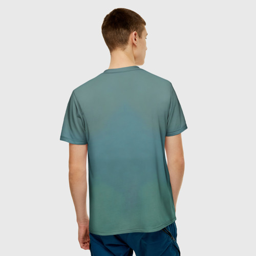 Мужская футболка 3D  Фото 02, Пришелец