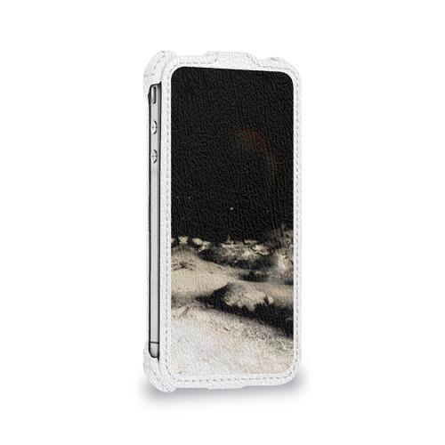 Чехол для Apple iPhone 4/4S flip  Фото 05, Пришелец