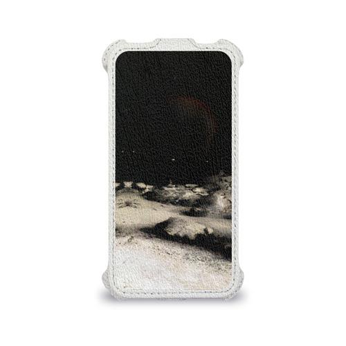Чехол для Apple iPhone 4/4S flip  Фото 04, Пришелец