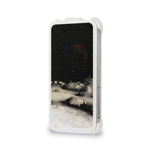 Чехол для Apple iPhone 4/4S flip  Фото 06, Пришелец