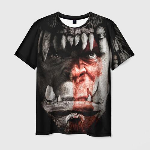 Мужская футболка 3D Warcraft