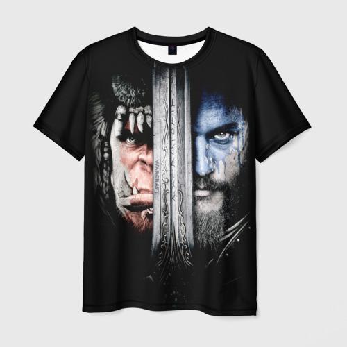 Мужская футболка 3D Warcraft 3