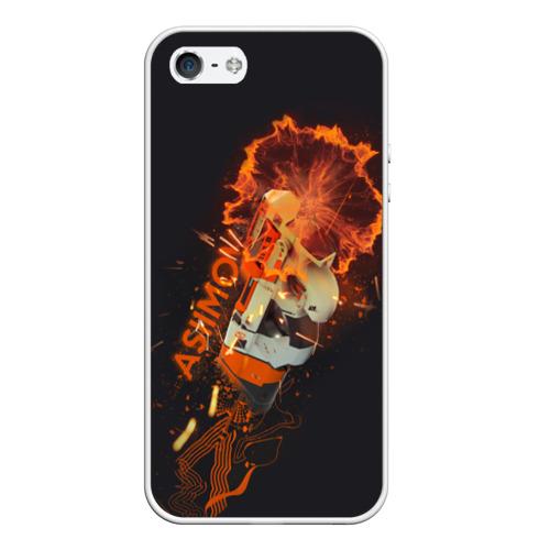 Чехол силиконовый для Телефон Apple iPhone 5/5S Asiimov от Всемайки