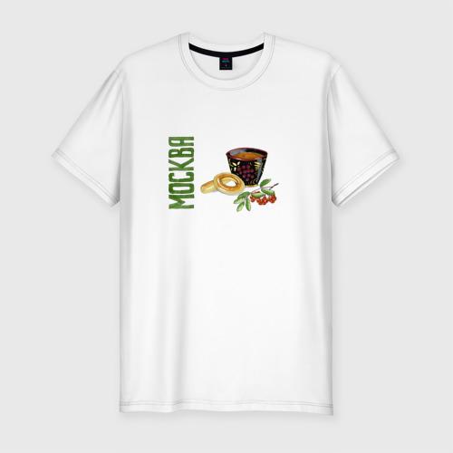 Мужская футболка премиум  Фото 01, Москва. Чаепитие