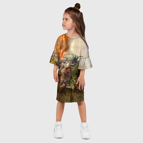 Детское платье 3D  Фото 03, День победы