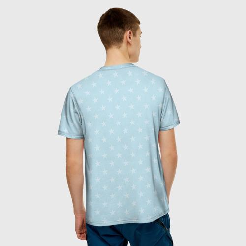 Мужская футболка 3D 'Бессмертный полк Саратов'