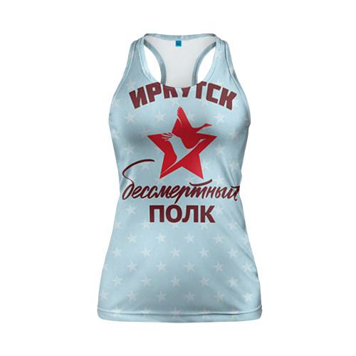 Женская майка 3D спортивная  Фото 01, Бессмертный полк  Иркутск