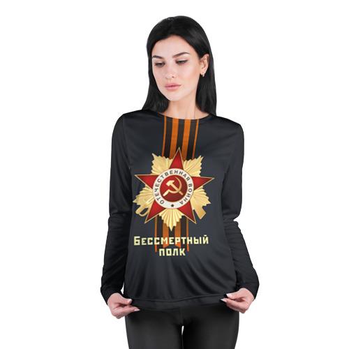 Женский лонгслив 3D для беременных  Фото 04, Бессмертный полк 4