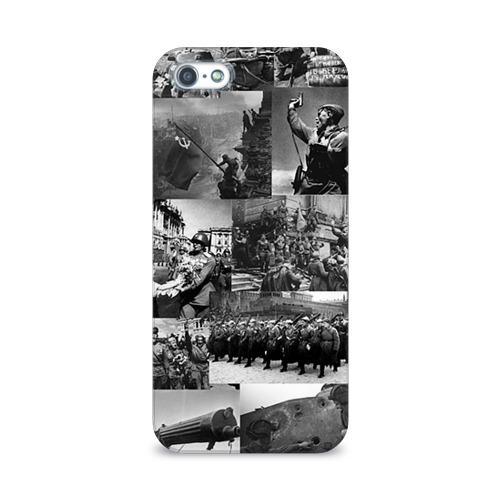 Чехол для Apple iPhone 5/5S 3D  Фото 01, Военные фото