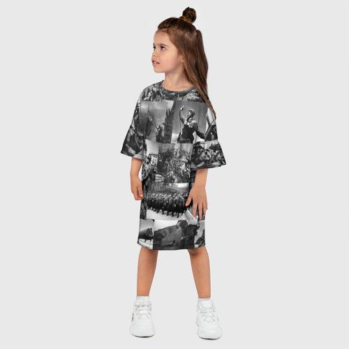 Детское платье 3D  Фото 03, Военные фото
