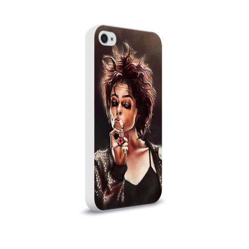 Чехол для Apple iPhone 4/4S soft-touch  Фото 02, Марла