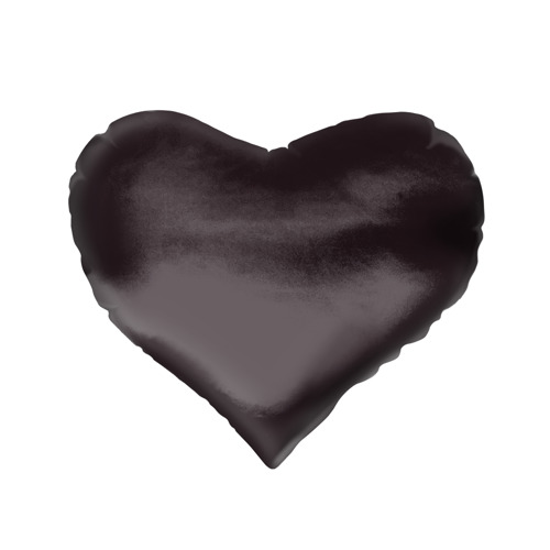 Подушка 3D сердце  Фото 02, Марла