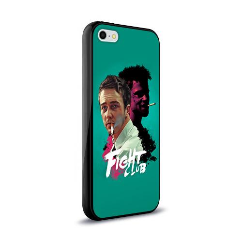 Чехол для Apple iPhone 5/5S силиконовый глянцевый  Фото 02, FIGHT CLUB