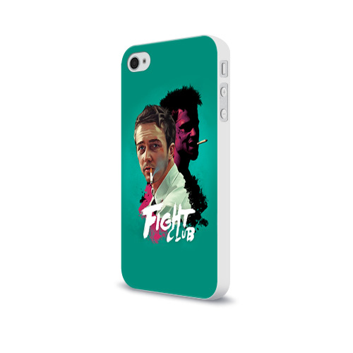 Чехол для Apple iPhone 4/4S soft-touch  Фото 03, FIGHT CLUB