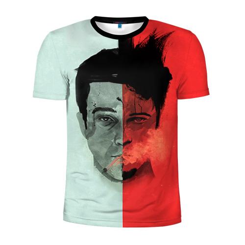 Мужская футболка 3D спортивная Бойцовский клуб