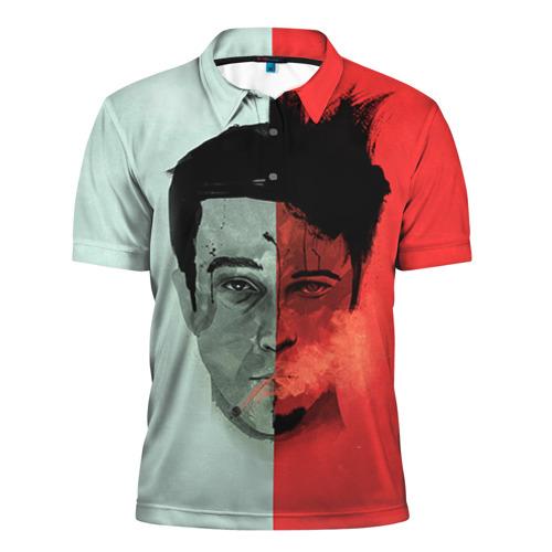 Мужская рубашка поло 3D Бойцовский клуб