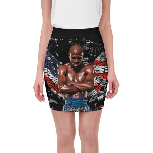 Мини-юбка 3D Бокс от Всемайки