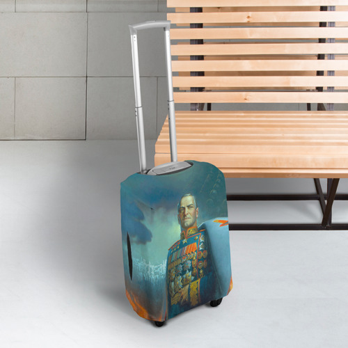 Чехол для чемодана 3D  Фото 03, Жуков
