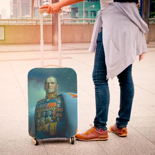 Чехол для чемодана 3D  Фото 04, Жуков