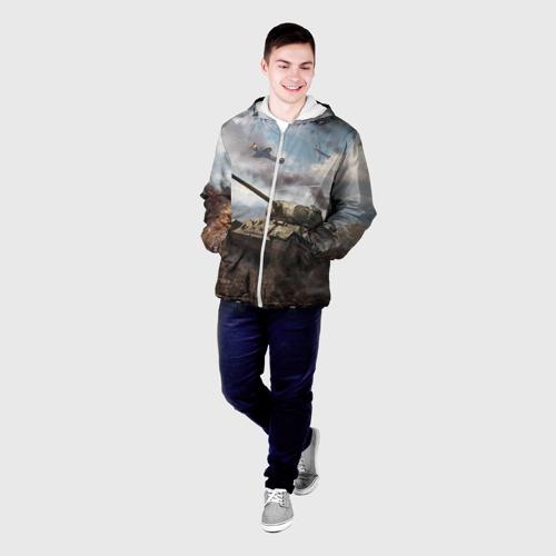 Мужская куртка 3D Наступление