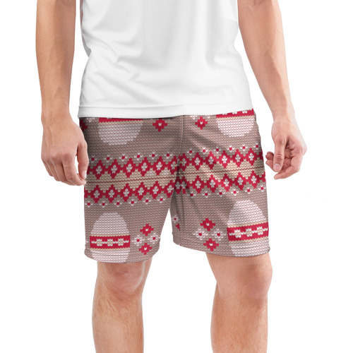 Мужские шорты 3D спортивные  Фото 03, Пасхальный свитер