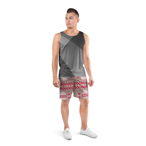 Мужские шорты 3D спортивные  Фото 04, Пасхальный свитер