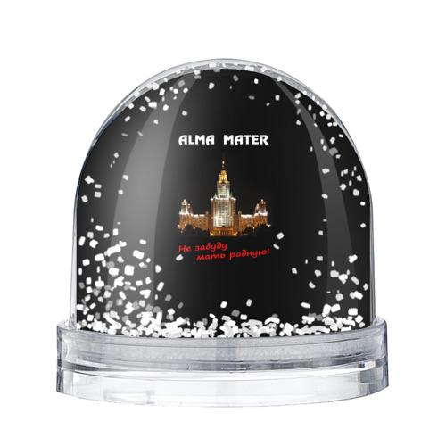 Водяной шар со снегом МГУ alma mater
