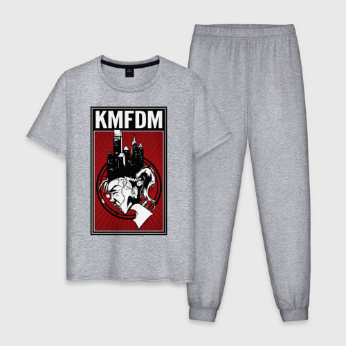 Мужская пижама хлопок KMFDM 2013 Фото 01