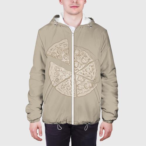 Мужская куртка 3D  Фото 04, Пицца