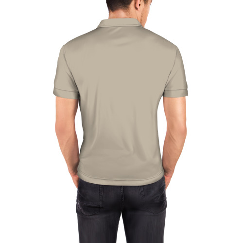 Мужская рубашка поло 3D  Фото 04, Пицца
