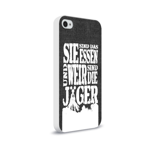 Чехол для Apple iPhone 4/4S soft-touch  Фото 02, Attack on Titan