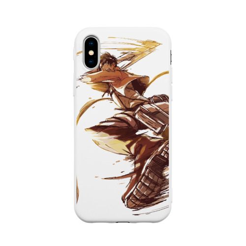 Чехол для Apple iPhone X силиконовый матовый