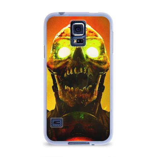 Чехол для Samsung Galaxy S5 силиконовый  Фото 01, DOOM