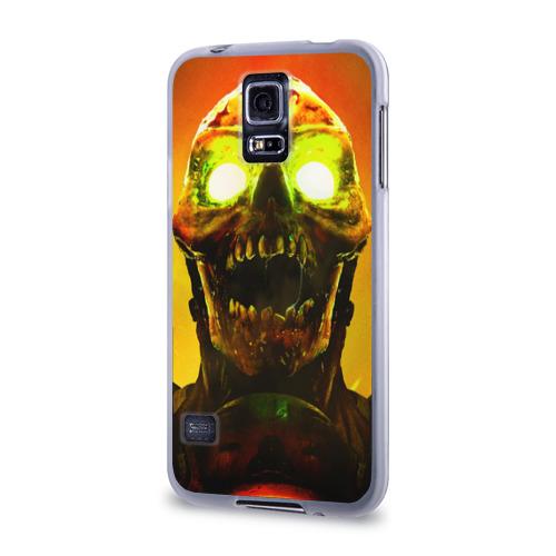 Чехол для Samsung Galaxy S5 силиконовый  Фото 03, DOOM