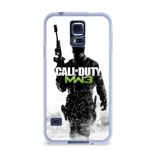 Чехол для Samsung Galaxy S5 силиконовый  Фото 01, Call of Duty