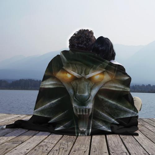 Плед 3D  Фото 02, Волк