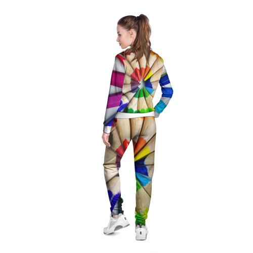 Женская олимпийка 3D  Фото 04, Карандаши
