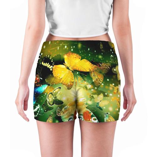 Женские шорты 3D  Фото 04, Бабочки