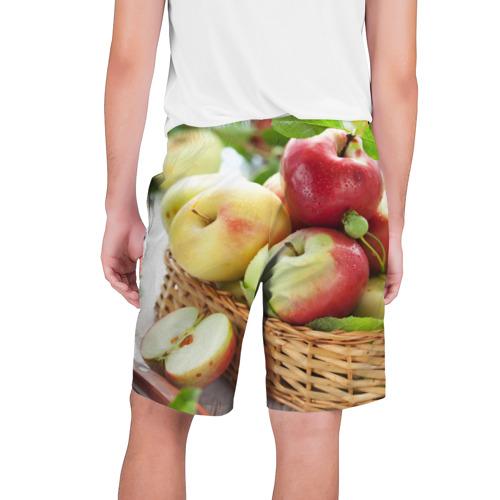 Мужские шорты 3D  Фото 02, Яблоки