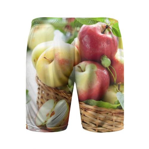 Мужские шорты 3D спортивные  Фото 02, Яблоки