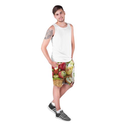Мужские шорты 3D  Фото 03, Яблоки