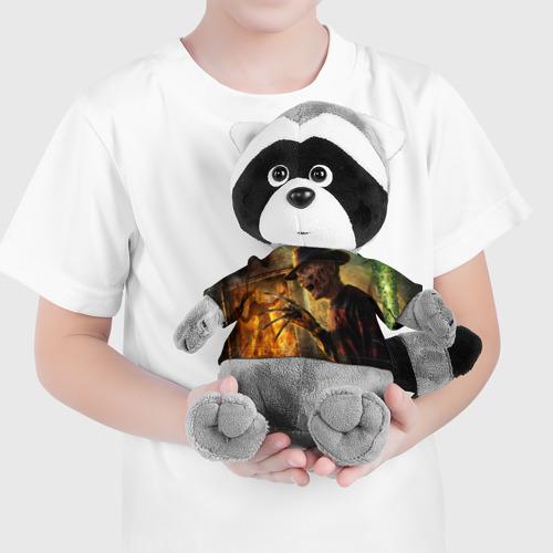 Енотик в футболке 3D  Фото 04, Фредди Крюгер