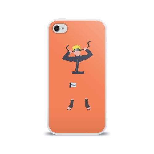 Чехол для Apple iPhone 4/4S силиконовый глянцевый  Фото 01, Наруто